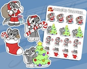 WOLF CHRISTMAS Planner St...
