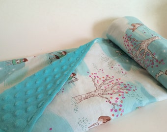 Nap Blanket - Teal Children's playing
