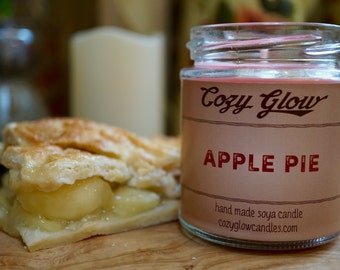 Apple Pie Soy Candle 6.8 ounce Jar