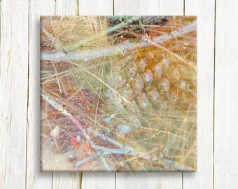 Nature art - Canvas art print - ready to hang - housewarming gift