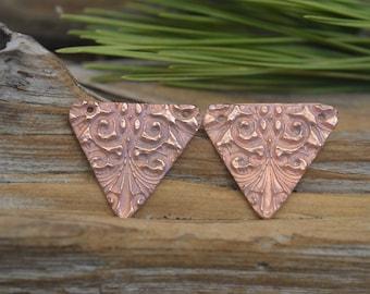 Handmade  Copper Victorian Components