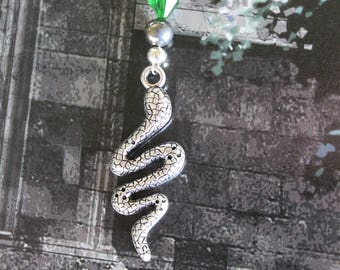 House Points Bookmark - Green & Silver