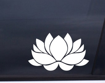 "Lotus Car Sticker Decal 3""x5"" Free Shipping"