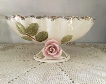 Ucagco ceramics Japan, vintage vase, decorative bowl, 1950's,
