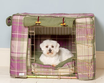 Thane Of Fife Dog Crate, Cover & Cushion Set - Available in 4 sizes and 3 crate colours