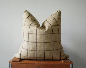 THE BELLINGHAM 20x20 Square Pillow Cover