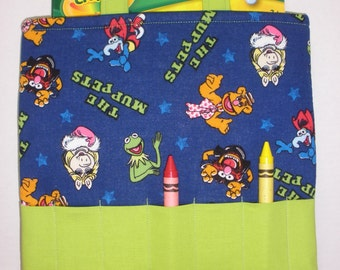 Muppets Crayon Tote