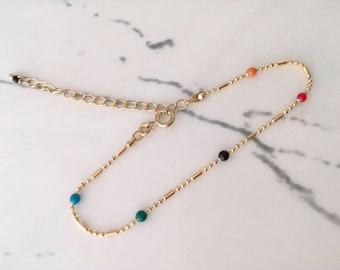 Bracelet mina mulitcouleur