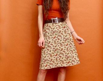 Paisley Garden Tapestry Skirt