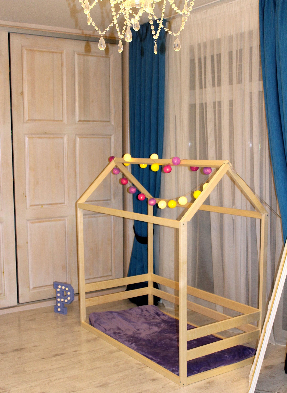 kleinkind haus bett montessori stock bett tipi bett kind. Black Bedroom Furniture Sets. Home Design Ideas