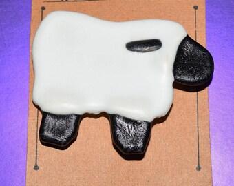 Hand Crafted Sheep Pin