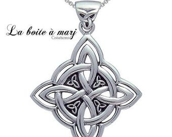 """""""Treasures of Valhalla"""" Celtic knot necklace"""