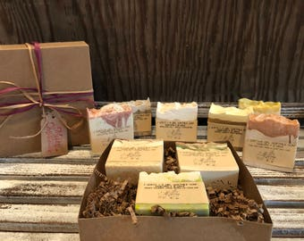 Any 3 goat milk soaps gift pack