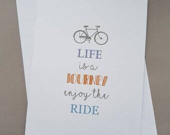 Life is a Journey - Travel - Wedding - Birthday
