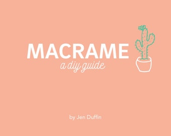 How to macrame ENGLISH, macrame pattern, macrame class, diy, macrame plant hanger, macrame wall hanging, macrame instructions,