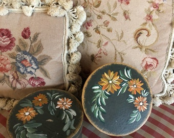 Farmhouse Hand painted Floral Boxes