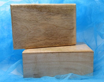 Natural Wood Box For Tarot Cards Treasures Healing Stones Jewelry Keepsake Box