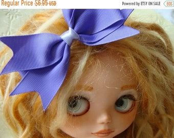 ONSALE Gorgeous High End Pretty Purple Hair Bow for Blythe