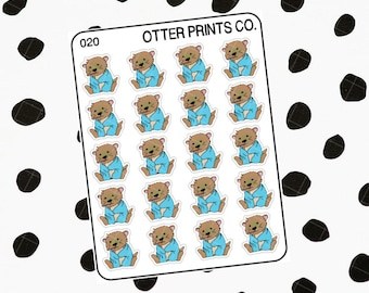 Sick || Otis the Otter Character Stickers