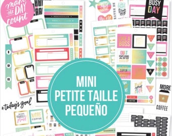 The Happy Planner MINI Value Sticker Pack - Productivity