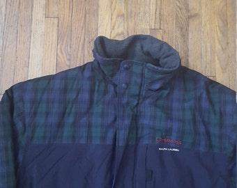 Vintage Chaps Ralph Lauren winter jacket with hideaway hood