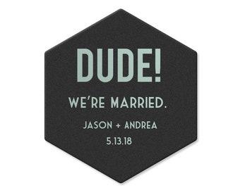 Wedding Coasters, Personalized Coasters, Custom Wedding Coasters, Custom Coaster, Wedding Favors, Personalized Wedding Favor, Coasters 4