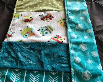 Dinky Minky Baby Blanket