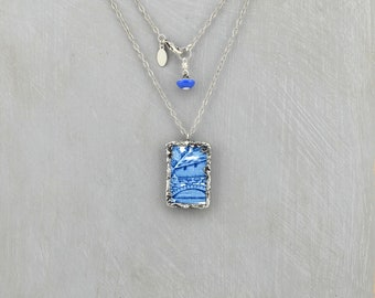 Broken China Necklace, Pendant