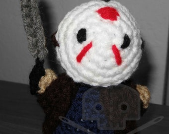 Horror Icon Collection- Friday the 13th - Inspired Jason Plush