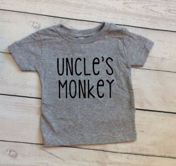 Uncle and Nephew Shirts - Uncle and Niece Shirts - Monkey Shirts - New Uncle Shirt - Uncle Gift - Brother in Law Gift - Matching Shirts dpNIZ