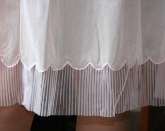 Half Slip Petticoat French Vintage 1950s