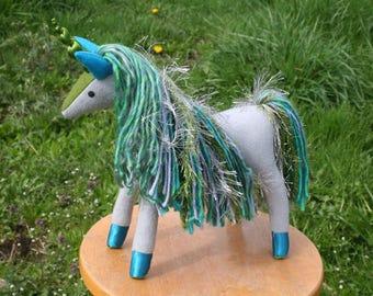 Mermaid Magic Unicorn Fantasy Plush ~ Eco Friendly Stuffed Unicorn Toy, Girls Plushy, Mermaid Theme Birthday, Unicorn Doll, Plush Unicorns