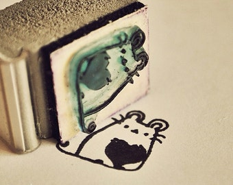 Photographers Thank You Rubber Stamp Thank You For Trusting Me