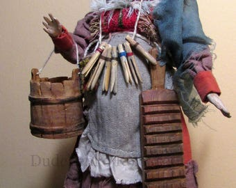 Wooden doll Grodner Tal 18th century ...