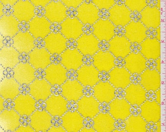 Bright Yellow Stretch Velvet, Fabric By The Yard