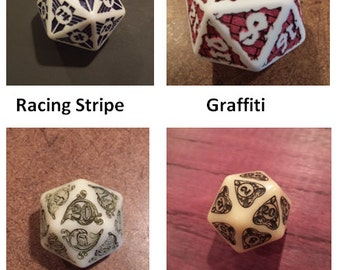 Custom D20: Any DougOutCraft D20 With a Personal Touch