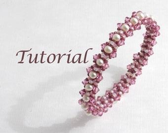 Beaded Bracelet Tutorial Sweetness and Light Digital Download
