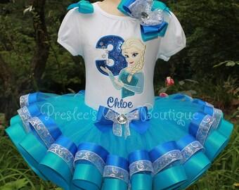 Elsa tutu Etsy