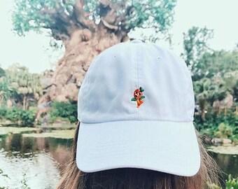 Orange Bird Disney Dad hat Disney World/Disneyland Baseball hat- Monogramming available!