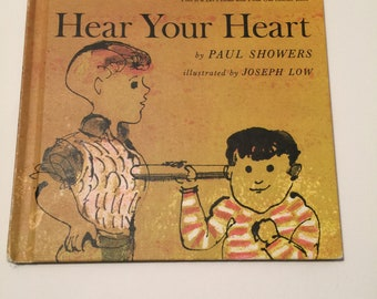 Hear Your Heart By Paul Showers Vintage book