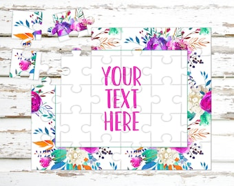 Create Your Own Puzzle - Pregnancy Announcement - Custom Puzzle - Personalized Puzzle - Announcement Ideas - Wedding Announcement - CYOP0070