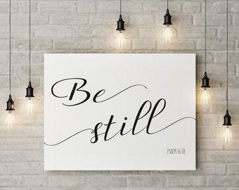 Be Still Large Digital Print