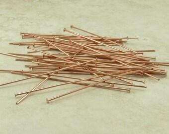 50 TierraCast 2 inch 21 gauge Copper Headpins > I ship Internationally 0028 Tierra Cast