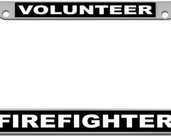 My Time Volunteer Firefighter Vinyl Decal