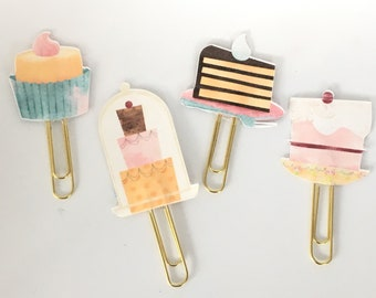 Just Desserts Planner Clips, Paper Clips, Planner Accessories