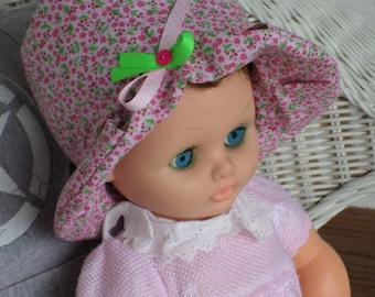 baby Sun Hat designer linen ' cotton eva was