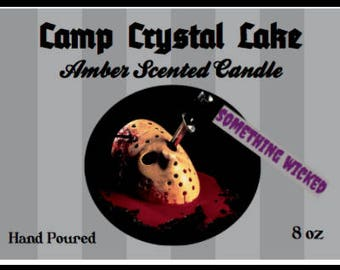 Friday the 13th Jason Voorhees Horror Villain Inspired Candle