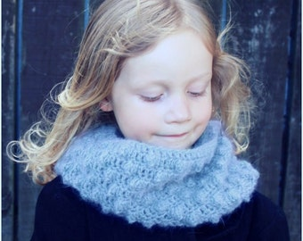 Download Now - CROCHET PATTERN Winter Wonderland Cowl - Sizes Toddler to Adult - Pattern PDF