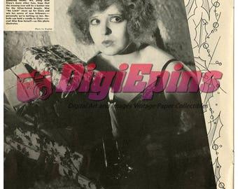 Lot of 5 1931 Movie Stars Clara Bow Bessie Love Photo Images Digital Downloads