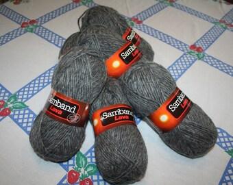 100% Virgin Wool Yarn Samband Lava Icelandic Virgin Wool